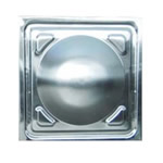 Stainless steel stamping plate (0.5x0.5 corner)